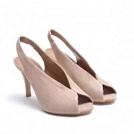 Peep Toe heel Shoe