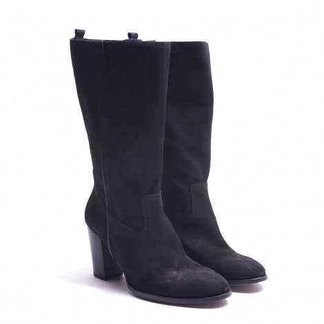 Black Half-leg boot