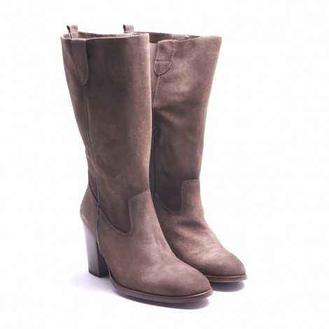 Tan Half-leg boot