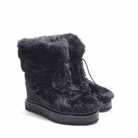 Black Fur Booty
