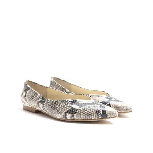 Snake Flat Shoes