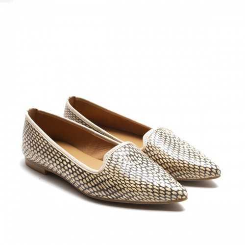 Print Flat Shoes