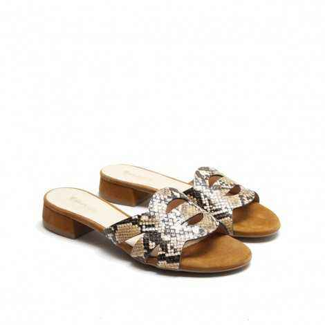 Snake Flat Sandals