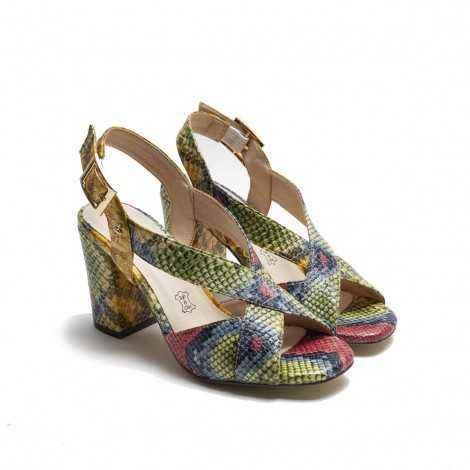 Sandalia Multicolor