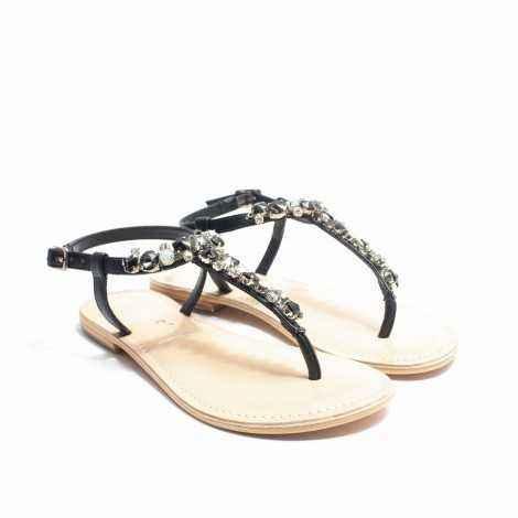 Stones Flat Sandals