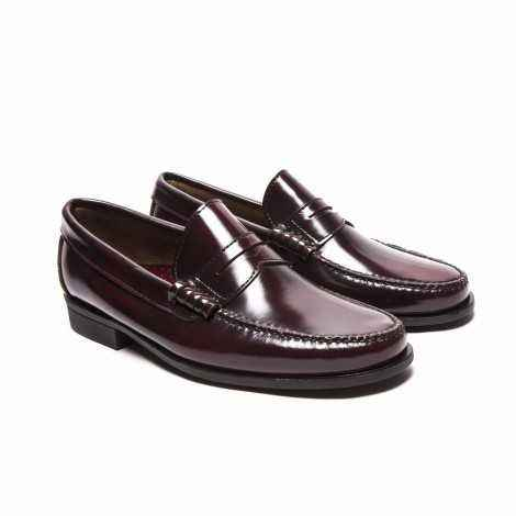 Leather Mask Loafer