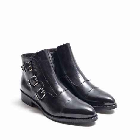 Monk Ankle Boots