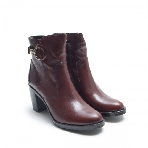 Burgundy Ankle Boots