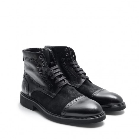 Mix Ankle Boots
