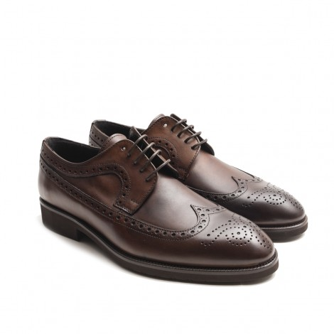 Derby Natural Leather