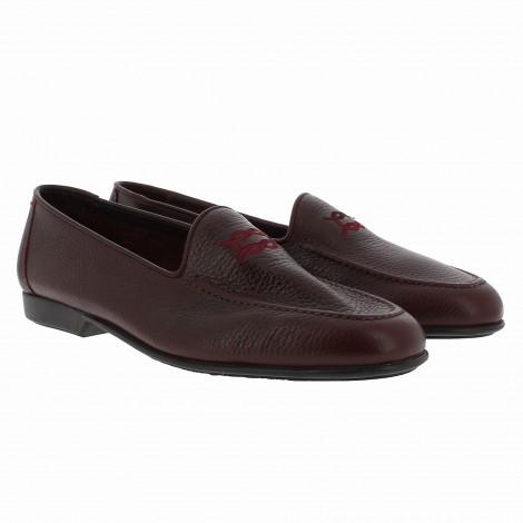 Burgundy Leather Loafer