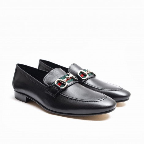 Black Band and Strirrup Loafer