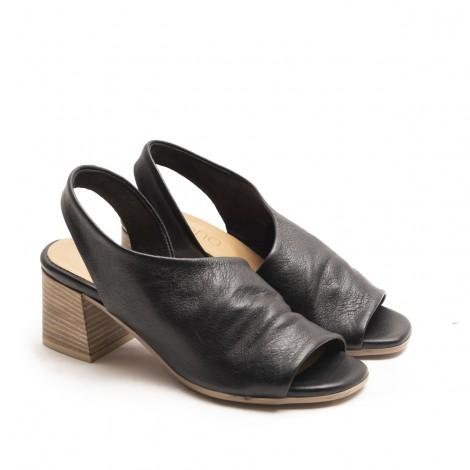 Black Band Sandals