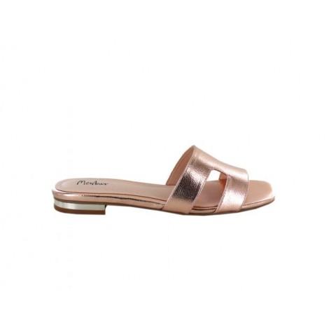 H Flat Sandals
