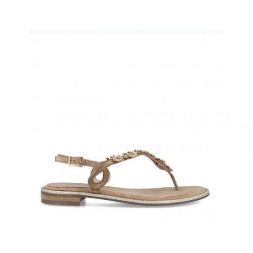 Beige Stones Sandals
