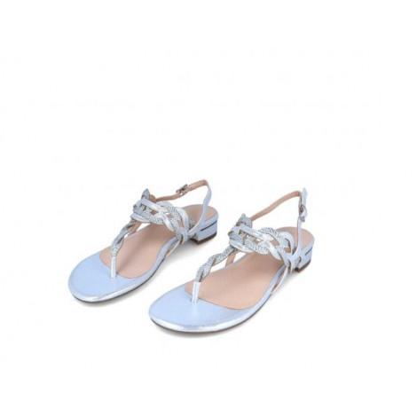 Grey Slave Sandal
