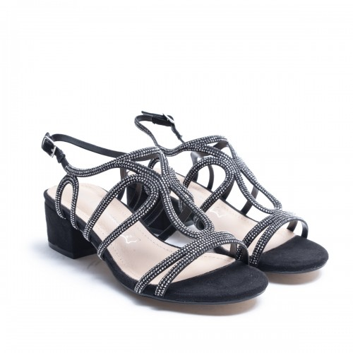 Strass Straps Sandal