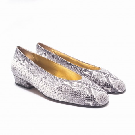 Grey Snake Shoes