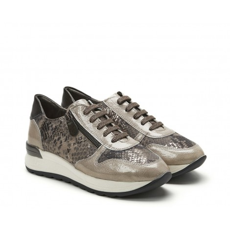Beige Combi Sneaker