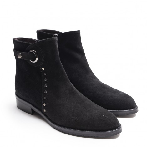 Studs and Hoop Ankle Boot