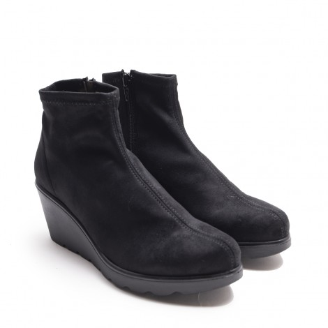 Elastic Suede Ankle boot