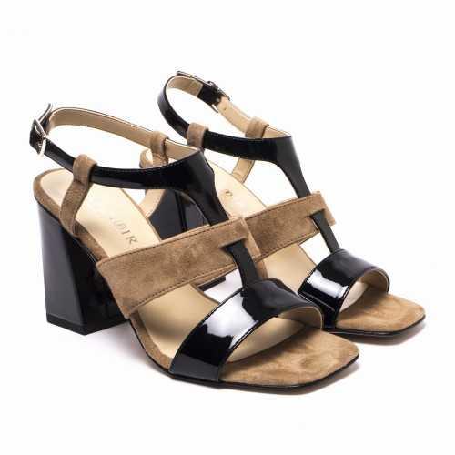 Band Heel Sandals