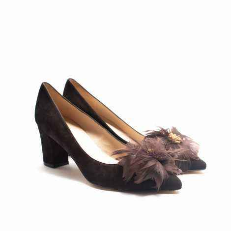 Feather Heel Shoes