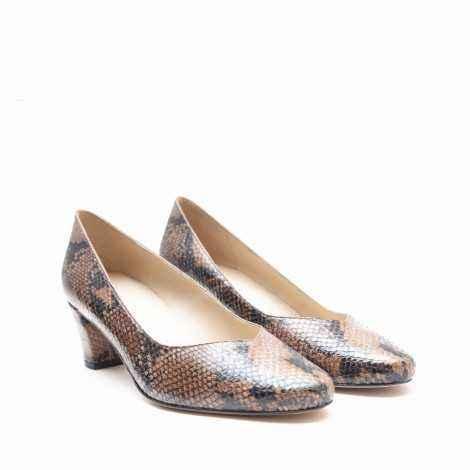 Snake Heel Shoes