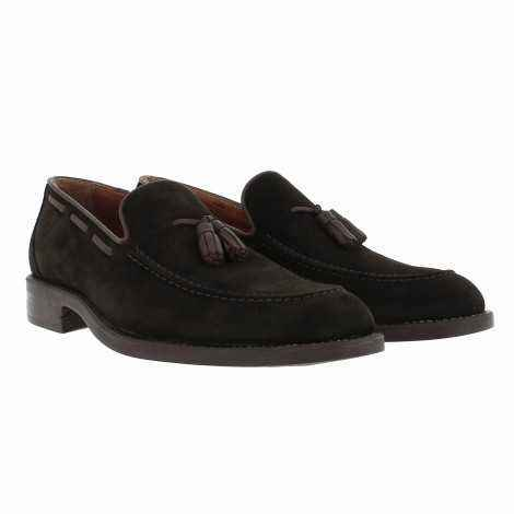 Suede Tassels Loafers