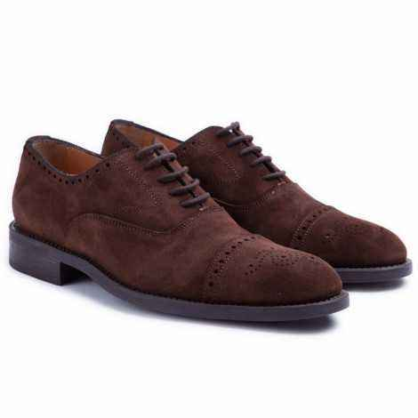 Nut Suede Oxford