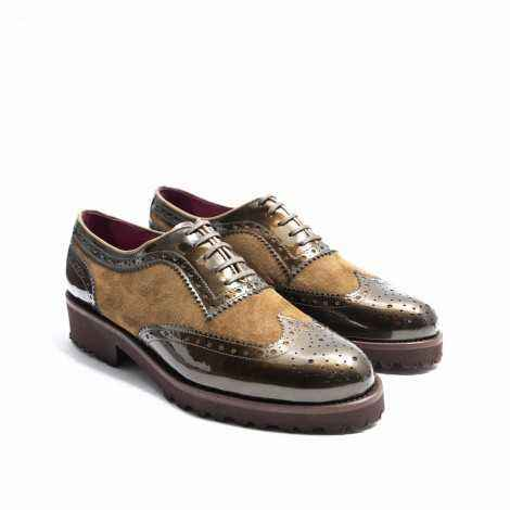 Green Derby Shoes