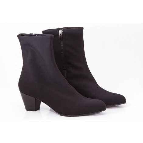 Lycra Ankle Boots
