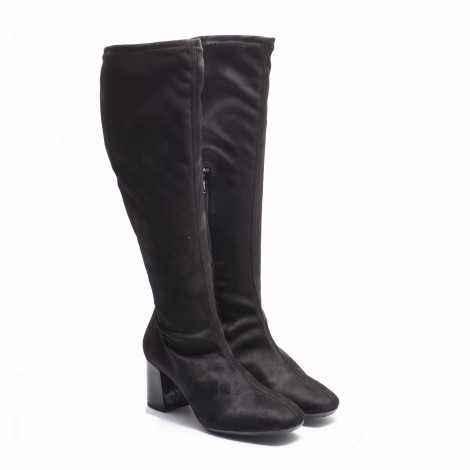 Lycra Suede Boots