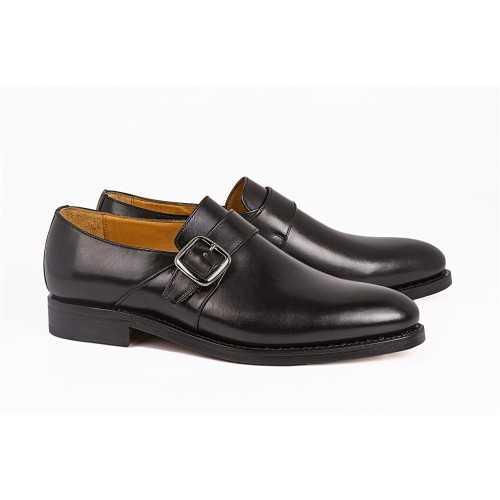 Leather Monk Shoe