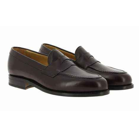 Burgundy Leather Loafer