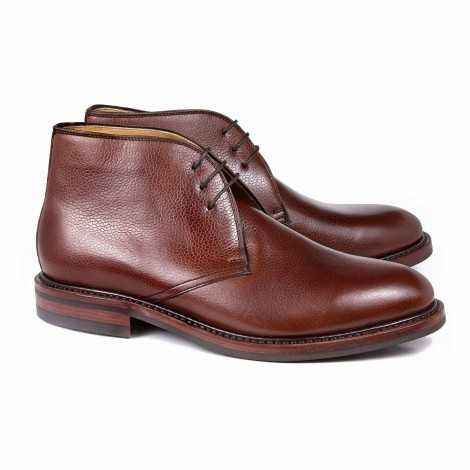 Leather Deser Boot
