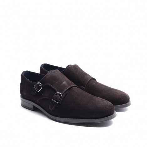 Suede Monk Shoe