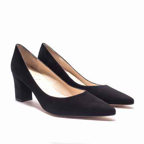 Suede Heel Shoes