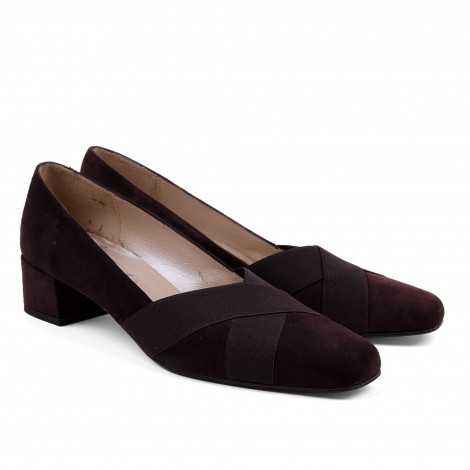 Suede Heeled Shoes