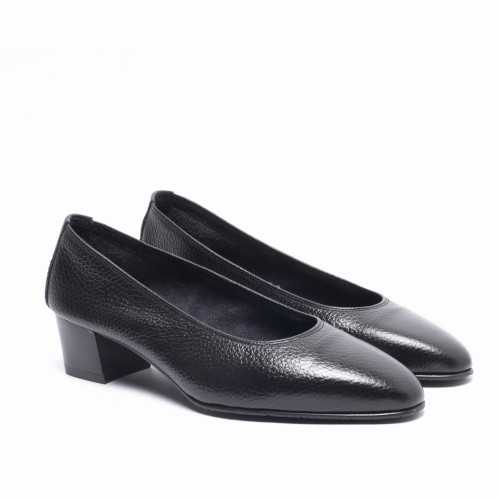 Leather Heel Shoes