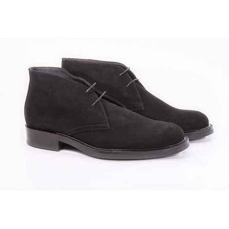 Ankle Boot Black Suede