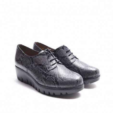 Blucher Serpiente Gris