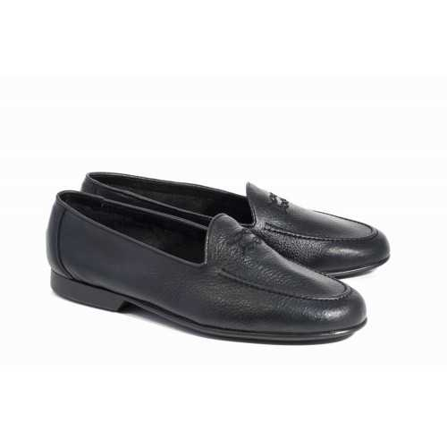 Rubber Outsole Loafer