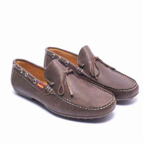 Mud Leather Loafer