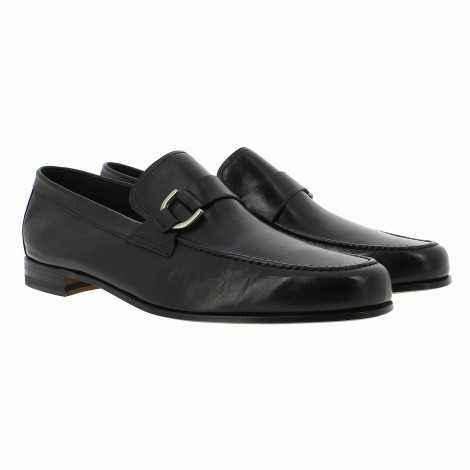 Buckle Leather Loafer