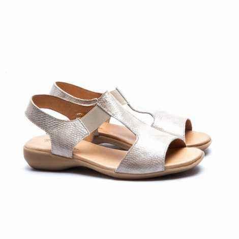 Elastic Band Flat Sandals
