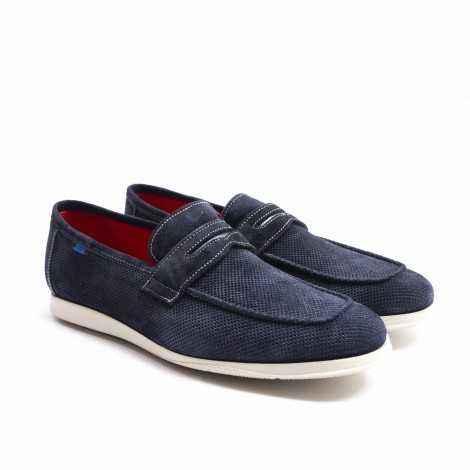 Mask Blue Loafer