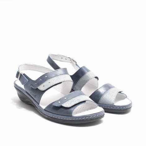 Sandalia Dos Velcros