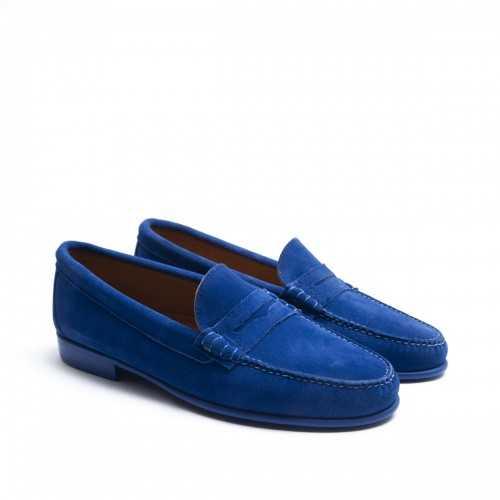 Bright Blue Mask Loafer