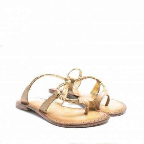 Natural Flat Sandals